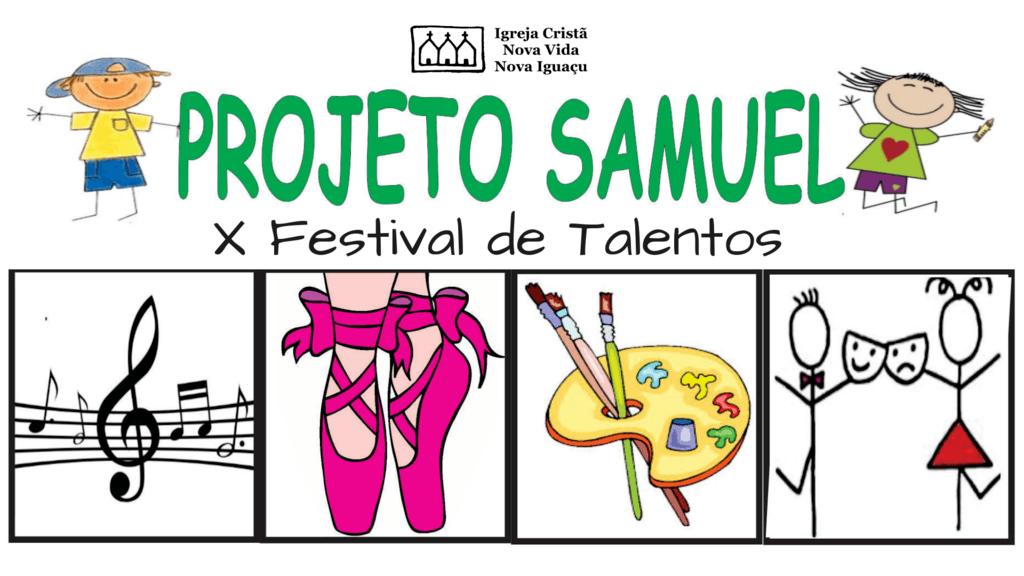 Festival de Talentos Projeto Samuel