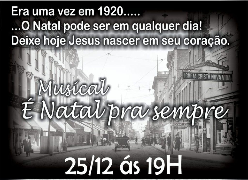 Musical de Natal - 25/12/2018
