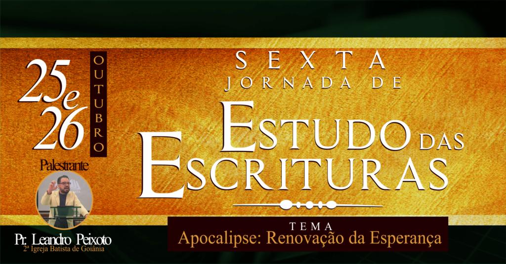 6a Jornada de Estudos das Escrituras