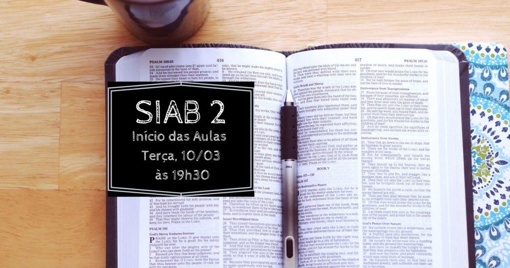 SIAB 2-Inicio das aulas-ICNVNI