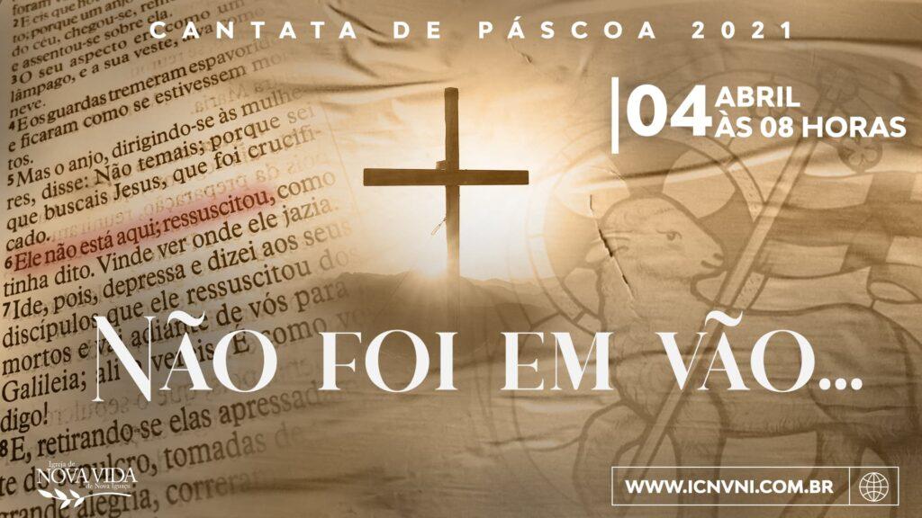 cantata de páscoa 2021